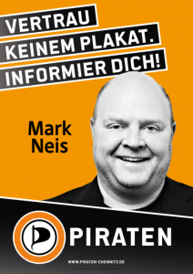 Plakat Mark Neis WK2 480